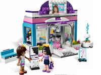 beauty shop toys - Friends Butterfly Beauty Shop Building Block Sets Original Bela Educational DIY girls Toys
