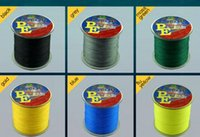 Wholesale Hot M SUPER Strong Japanese Braided Multifilament fishing line POWER Fishing Line LB m braided fishing line