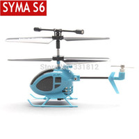 3ch helicopter - New Syma S6 CH RC Mini helicopter with GYRO remote control toys the world smallest helicopter