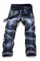 Wholesale new fashion skinny mens jeans colors Slim Straight jeans male men s jeans original men pants