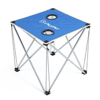 Wholesale Ultra light Outdoor Portable Folding Table Foldable Table Desk for Camping Picnic Travel BBQ Beach Blue Red Green