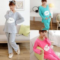 best twin strollers - The Best Price For Maternity Sleepwear Soft Cotton Pregnant Pajamas Set Long Sleeve Tops Pants