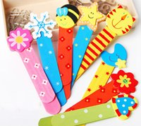 Wholesale Wood Bookmark Cartoon Bookmarks With Scale Ruler And Bookmarks