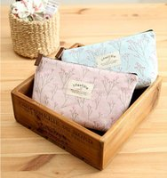 Cheap Women New Flower Floral Pencil Pen Case Cosmetic Makeup Tool Bag Storage Pouch Purse By