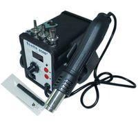 Cheap scotle 858D+ smd rework station Desoldering Tool atten hot air station Hot Air Gun 220V soldering station
