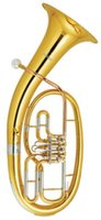 Wholesale Bb Three Valves Baritone Brass Wind musical instruments With ABS case EMS