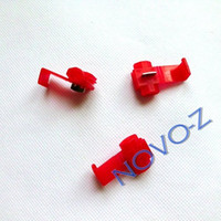 Wholesale red for mm wire fast wire connector no cutting needed to wire connector