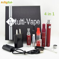 electronic cigarette liquid - Newest electronic cigarettes in Starter Kits with EVOD battery MT3 for liquid O Pen vape for hemp oil AGO for dry herb Ceramic for wax