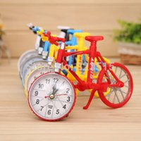 Wholesale FG1511 Hot Classical Hot Creative Bicycle Bike Shape Quartz Alarm Clock Model Women Home Office