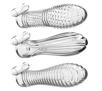crystal sex toy - Sex Toys For Man Electric Shock Crystal Sets Penis Sleeve Rings Sex Products Ergonomic Clitoral Stimulator Man Masturbator
