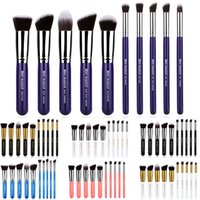 Wholesale 10Pcs Professional Cosmetic Makeup Tool Brush Brushes Set Powder Eyeshadow Brush VD659 W0 SYSR