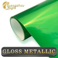 aluminum sheet thicknesses - 2015 High Quality Thickness mm Glossy Metallic Candy Green Automibile Vinyl Wrapping Film For Car Styling