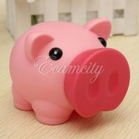 bank cash cute - Cute Plastic PVC Piggy Bank Saving Cash Coin Money Box Children Toy Kids Christmas Gifts color