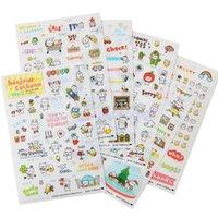 Wholesale 2016 New Sheet Pig Transparent Calendar Cute Diary Book Sticker Scrapbook Decoration Lovely