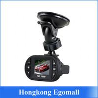 Wholesale Full HD P Mini Car DVR Camera Driving Video Recorder Degree G Sensor IR LED Night Vision Vehicle Dashboard Black Box C600
