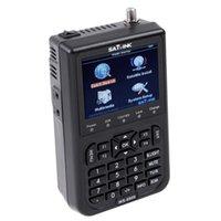 Wholesale DVB S FTA Professional Digital Satellite Signal Finder Meter Openbox Azamerica Azbox Bravissim quot SATlink WS Skybox