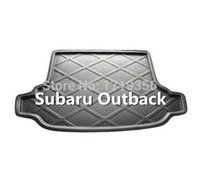 Wholesale high quality Rubber Foam Trunk Tray Liner Cargo Mat Floor Protector foot pad mats For Subaru Outback colors