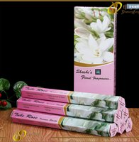 Wholesale Fine Natural Indian incense handmade aromatherapy spices darshan flowers mixed incense caton box x20 piece