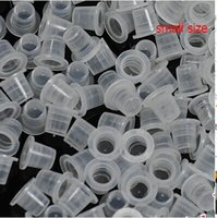 Wholesale 2041 hot selling tattoo eyebrow ink pigment cups caps small size