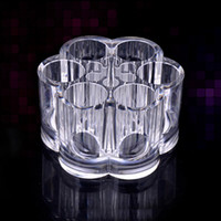 Wholesale BuyYouSee cheap New Acrylic Clear Make Up Case Lipstick Liner Brush Holder Cosmetics Case Big Promotion