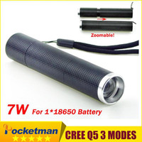 Wholesale Mini Torch LED Flashlight LM LED Camping Flashlight Torch Waterproof Flashlights Lamp Battery Powered Torches