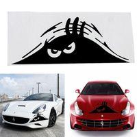 Wholesale 1 Random Type Funny Angry Smile Peeking Monster Auto Car Walls Windows Sticker Graphic Vinyl Car Decals