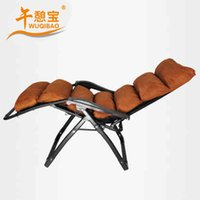 Wholesale Afternoon recreation treasure luxury pad couches plus folding bed siesta bed single bed office lunch siesta chair Easy