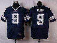 xxl wear - Tony Romo Sean Lee Dez Bryant Jason Witten American Football Jerseys Cowboys Blue White Football Wears Hot Sale jersey
