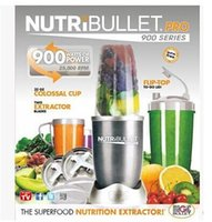 Wholesale Nutri Bullet Extractor Nutribullet Juicer PRO W Series with Superfood Superboost Recipe Books Nutri bullet Blender AU UK EU US Plug