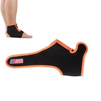 ankle brace - Adjustable Neoprene Sports Gym Fitness Ankle Support Brace Protector Elastic Velcro Ankle Pad Wrap Guard Y0114