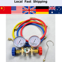 ac manifold gauge set - Refrigeration Air Conditioning R22 R12 R502 A C AC Diagnostic Manifold Gauge Set