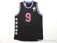 Wholesale New Release All Star American Basketball jerseys Pajon Rondo Black Men s Uniforms Cheap Basketball Wears Allow Mix Order