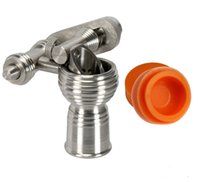 bangers - 14mm mm Titanium Honey Bucket Banger Nail Female FREE Silicone Jar