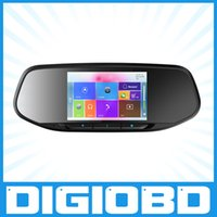 Cheap Eroda V50S car rearview mirror gps navigation system with wifi car dvr camera record HD Rear View Mirror Car Dash Cam BlackBox DVR Android