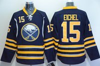 blue buffalo - Buffalo Sabres Hockey Jerseys Blue Eichel Ice Hockey Jersey New Arrival Hockey Wear Best Quality Sports Team Uniforms Hot Sale Shirt