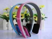 Wholesale High quality AEC Noise Reduction Bluetooth Headphones Headset with MIC for iPhone plus for Ipad for Tablet PC