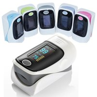 Wholesale Gray Color New OLED Blood Oxygen Finger Pulse Oximeter Oxymeter SPO2 PR Monitor