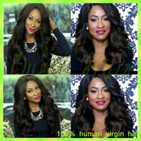 affordable glueless full lace wigs - Affordable Glueless Full Lace Wig Brazilian Virgin Hair Glueless Full Lace Human Hair Wigs Wavy Lace Front Wigs for Black Women
