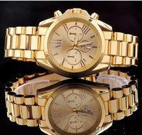 japanese dress style - luxury brand Quartz Rose Gold Men Casual Watch Dress Watch with Calendar Women Bracelet Japanese Style Quartz Brand with opp bag