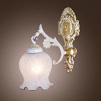 al por mayor euro de la vendimia-Wall Sconce, Euro Style LED Classic Vintage Wall Light Lamps Inicio Iluminación Arandela Lampara De Pared