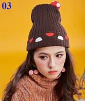 Wholesale 150pcs New Hot Winter Original Knitted Hat Creative Parent Child Cap Super Adorable Children s Cap High Quality Caps