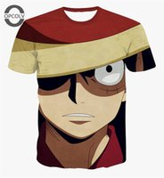 Cheap w151231 OPCOLV Cartoon characters One piece Printed 3d T shirts Fashion Men Women t shirts Anime Short Sleeve Luffy Cosplay T shirt Top
