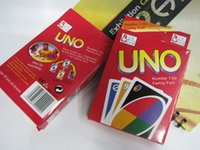 Wholesale UNO card game Funny Entertainment Board Games UNO Fun Poker Playing Cards Puzzle Games family fun games in stock