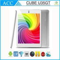 Wholesale 7 quot Original New Cube U35GT RK3188 Quad Core Ghz IPS Touch Screen MINI Pad Tablet PC IPS Capacitive GB GB Android Tablet PC HDMI