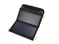 Wholesale 13W Solar Panel Power USB Battery Charger Universal for iPhone Samsung Smartphones Portable Electronics Camping Foldable