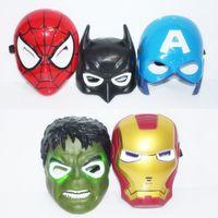 america union - The Avengers Union mask Halloween Party Spiderman Mask iron man Hulk Batman America captain mask