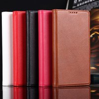 white rice - Red Rice Note Fine Embossed Leather Phone Protective Holster Case Cover Shell
