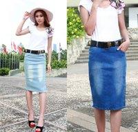 jean skirts - 2015 New Summer Women Jean Skirts Women s Casual Short Denim Skirts Slim Sexy Miniskirt Pencil Maxi Skirt Plus Size XXXL XL