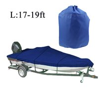 Wholesale Fishing Boat Cover D Speedboat for ft Beam quot Trailerable Fish Ski V Hull Wateproof UV Protected Resistant