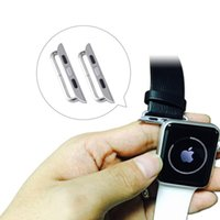 Wholesale For mm Apple Watchband Adapter Buckle Accessories With Screwdriver Quick Release Repair Parts iwatch Strap Connector